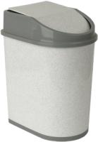Контейнер для мусора Idea М2480 (5л,мраморный) -