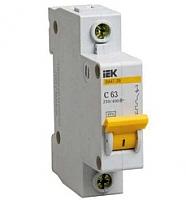 Выключатель автоматический IEK ВА 47-29 10А 1п 4.5кА С / MVA20-1-010C -