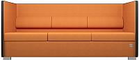 Диван Kulik System Conference 3 азур (оранжевый) -