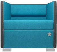 Диван Kulik System Lounge 1 азур (бирюзовый) -