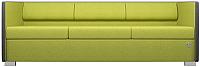 Диван Kulik System Lounge 3 азур (оливковый) -
