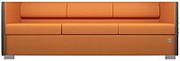 Диван Kulik System Lounge 3 азур (оранжевый) -