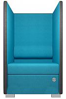 Кресло мягкое Kulik System Private 1 азур (бирюзовый) -