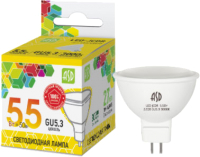 Лампа ASD LED JCDR 5.5Вт 230В GU5.3 3000К 495Лм -