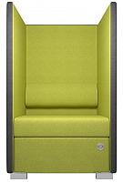 Кресло мягкое Kulik System Private 1 азур (оливковый) -