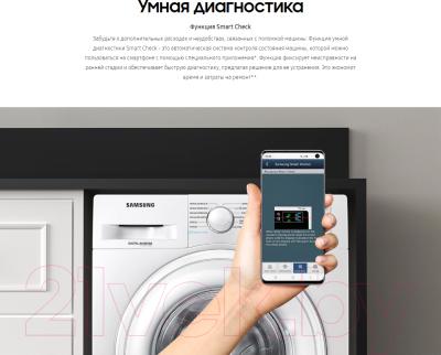 Стиральная машина Samsung WW80R42LHFWDLP