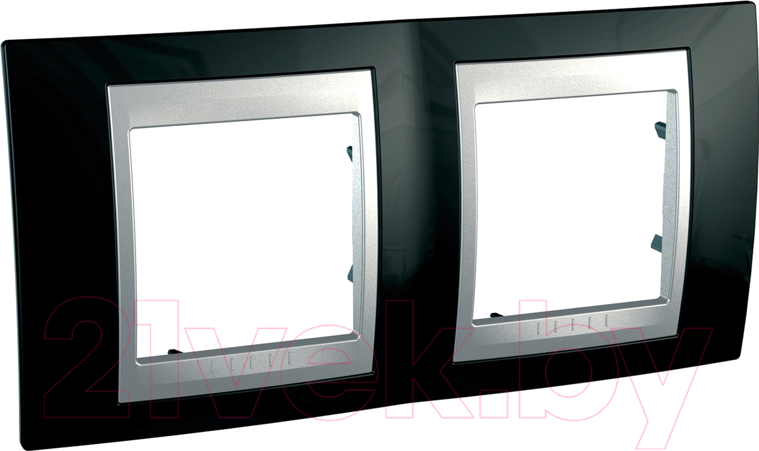 Купить Рамка для выключателя Schneider Electric, Unica MGU66.004.093, Россия, сплав поликарбоната и ASA-пластика, Unica Top (Schneider Electric)