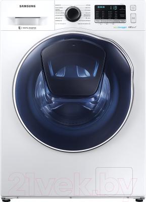 Стирально-сушильная машина Samsung WD80K52E0ZW/LP