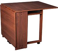Обеденный стол FORT Книжка 80-161x25-80x75 (ноче экко) -