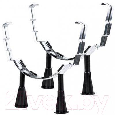 Купить Ножки для ванны Smavit, Etalon, Италия, черный, металл