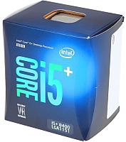 Процессор Intel Core i5+ - 8400 Box / BO80684I58400SR3QT -
