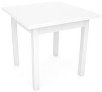 Обеденный стол FORT Советский 80-150x80x75 (белый) -