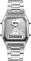Часы наручные мужские Skmei 1220-3 (серебристый) -