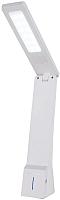 Настольная лампа Elektrostandard Desk TL90450 (белый/серебристый) -