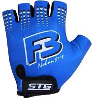 Перчатки велосипедные STG X61886-M (синий) -