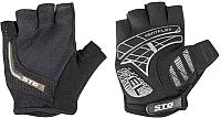 Перчатки велосипедные STG AI-03-108 / X81533-S (черный/серый) -