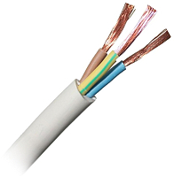 Провод силовой Electraline 11019 ПВС 3x1.5мм А (100м) -