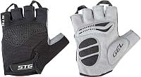Перчатки велосипедные STG AI-03-202 / X81534-S (черный/серый) -