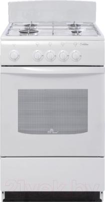 Плита газовая DELUXE 5040.38Г Щ (белый)