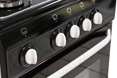 Плита газовая DELUXE 5040.38Г Щ (черный)