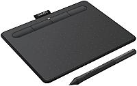Графический планшет Wacom Intuos S / CTL-4100WLK-N (черный) -
