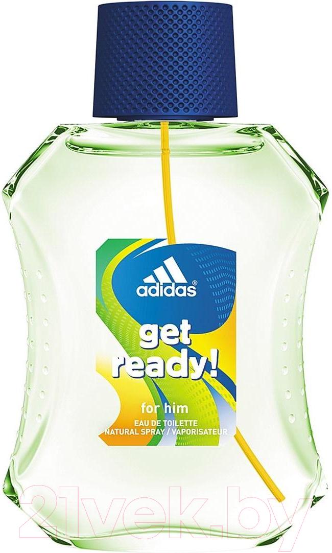 Купить Лосьон после бритья Adidas, Get Ready! Восстанавливающий для мужчин (100мл), Испания