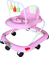 Ходунки Alis Маленький водитель 8 / SRA28 (розовый) -