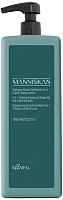 Шампунь для волос Kaaral Manniskan тонизирующий для волос бороды и тела 3 в 1 (1л) -