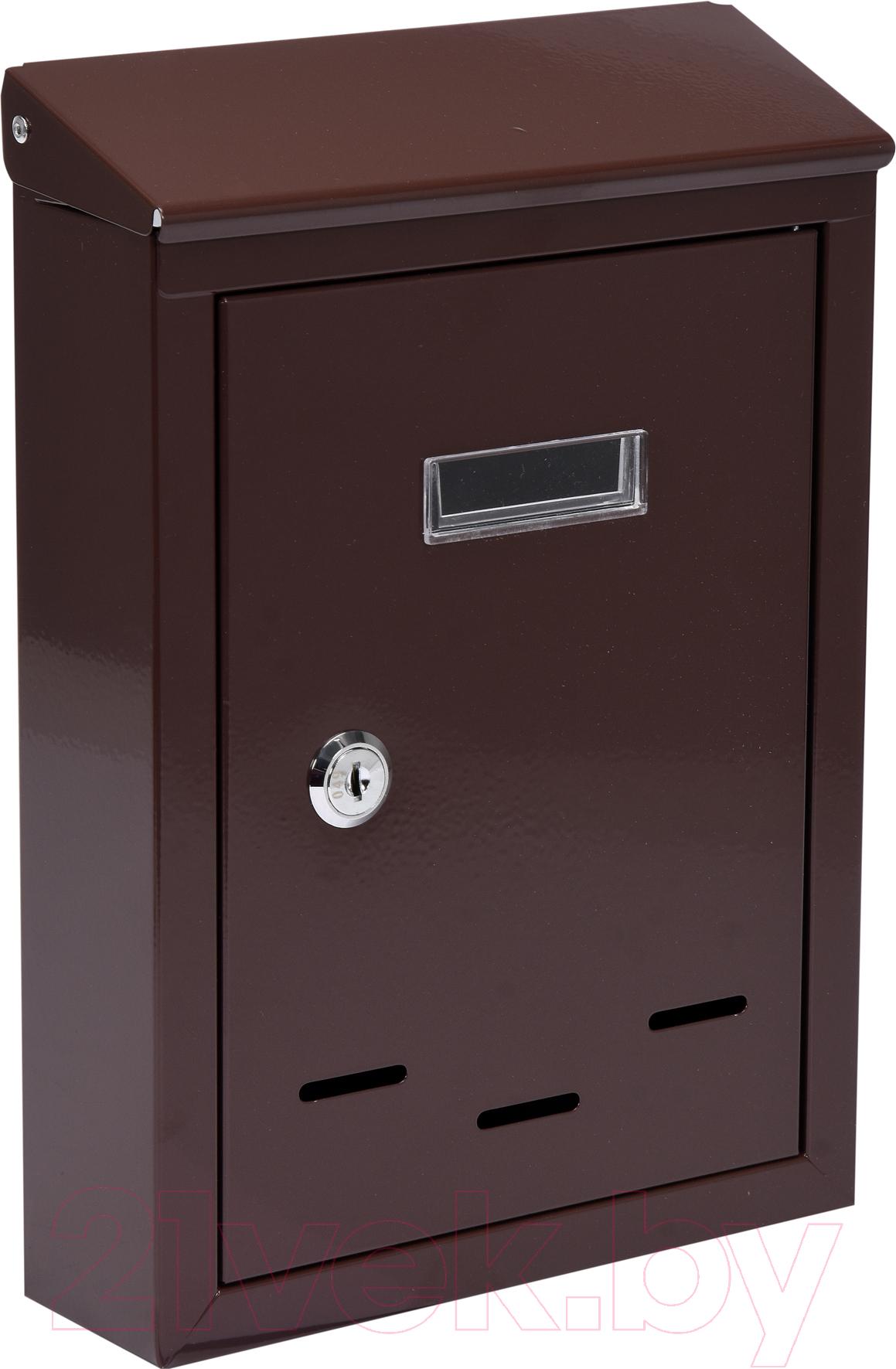Купить Почтовый ящик Vorel, 78542, Польша, коричневый, сталь