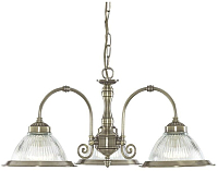 Люстра SearchLight American Diner 9343-3 -