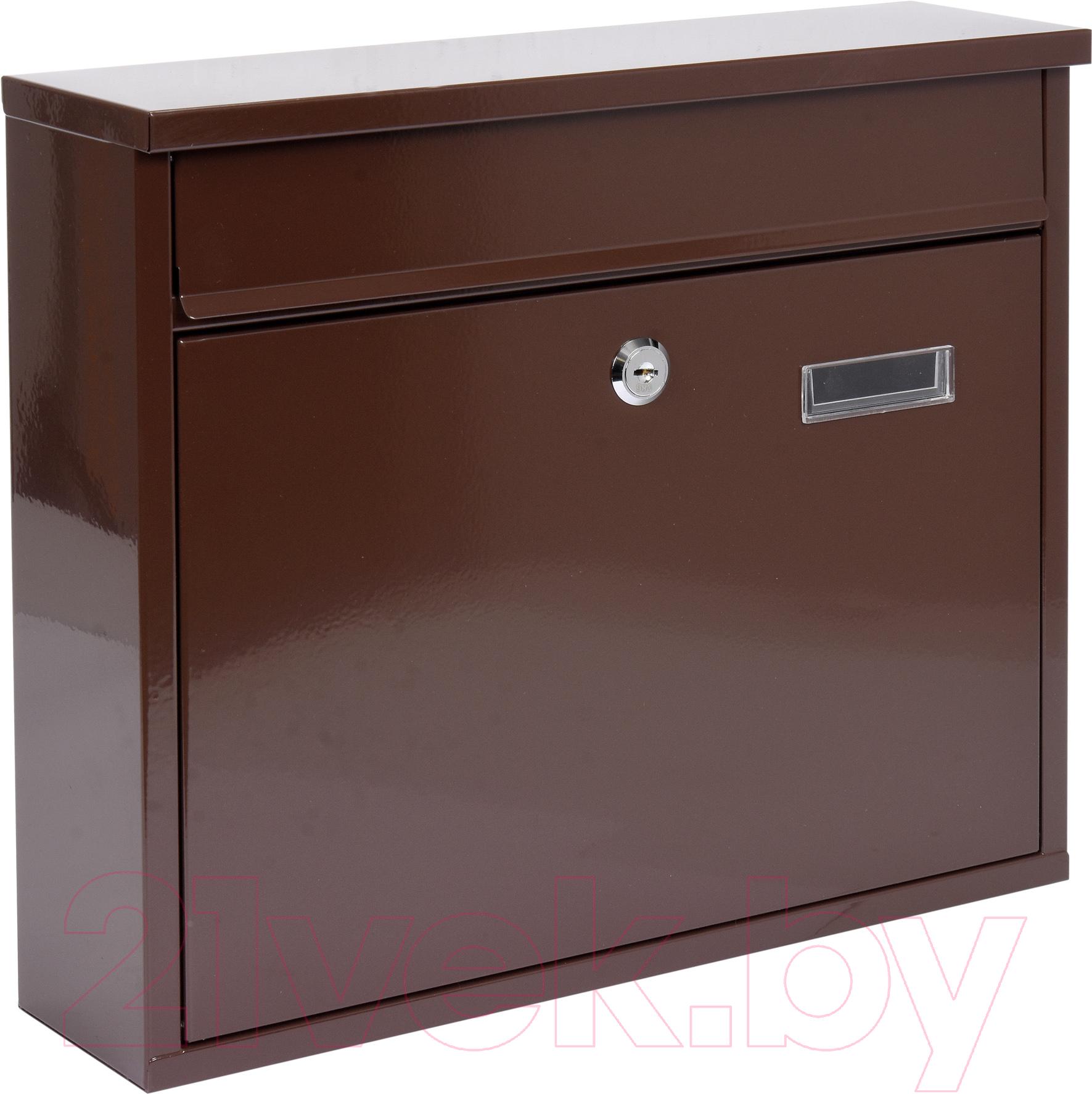 Купить Почтовый ящик Vorel, 78577, Польша, коричневый, сталь