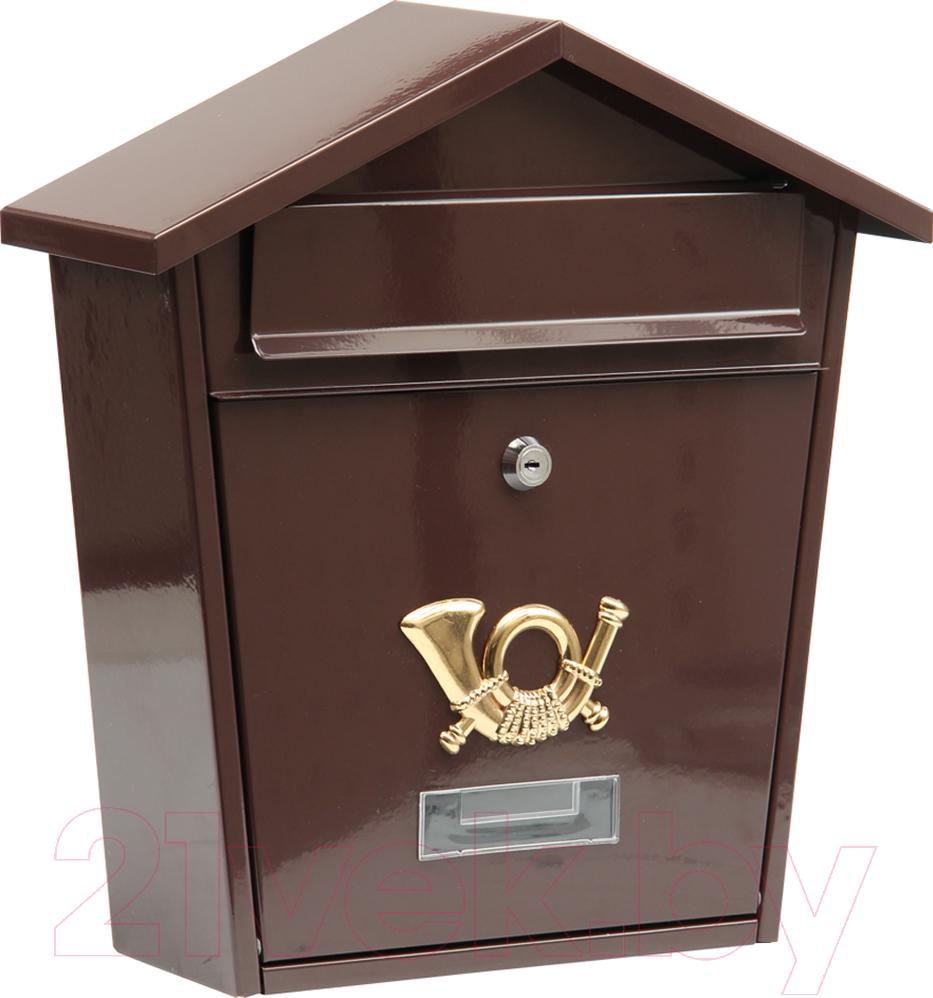 Купить Почтовый ящик Vorel, 78582, Польша, коричневый, сталь