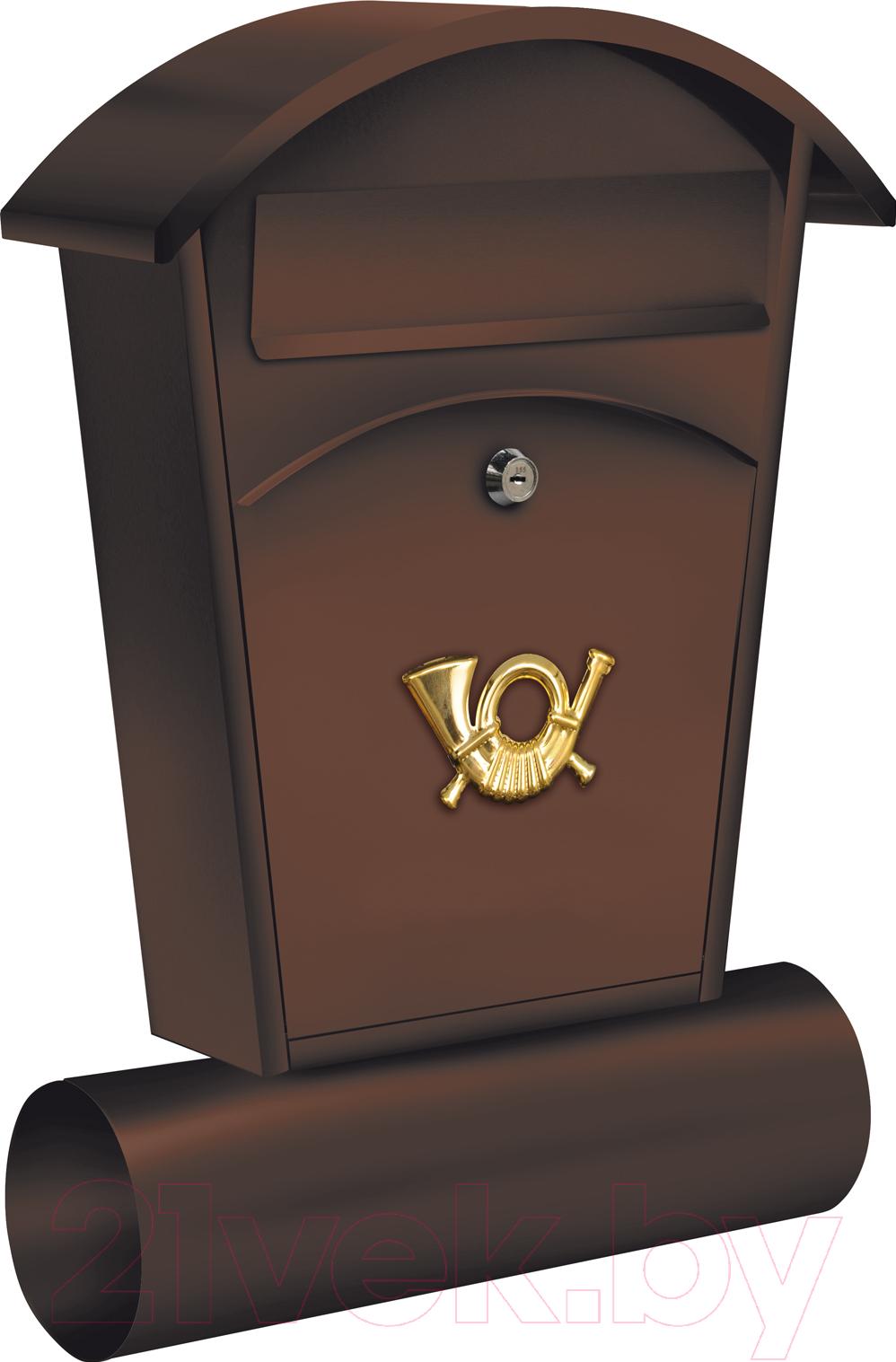 Купить Почтовый ящик Vorel, 78592, Польша, коричневый, сталь