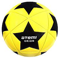 Футбольный мяч Atemi Orion PVC (размер 5, жёлтый/чёрный/белый) -