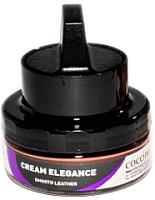 Крем для обуви Coccine Cream Elegance с губкой для гладкой кожи (50мл, коричневый) -
