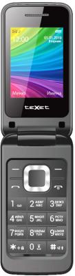 Мобильный телефон Texet TM-204 (антрацит)