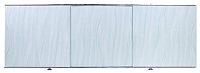 Экран для ванны Perfecto Linea 36-000177 (1.7м, волна голубая) -