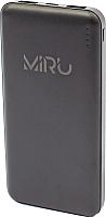 Портативное зарядное устройство Miru Li Pol 3000 10000mAh (черный) -