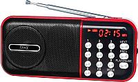 Радиоприемник MAX MR-321 (черный/красный) -