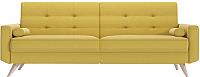 Диван La'Sofa Берген 222х90 (Cotone 2865/песочно-желтый) -