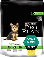 Корм для собак Pro Plan Puppy Small & Mini с курицей и рисом (700г) -