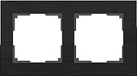 Рамка для выключателя Werkel Alluminium WL11-Frame-02 / A039117 (черный) -