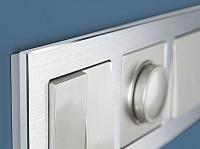 Рамка для выключателя Werkel Alluminium WL11-Frame-03 / A033741 (алюминий) -