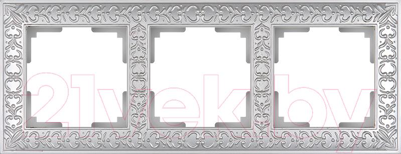 Купить Рамка для выключателя Werkel, Antik WL07-Frame-03 / A031784 (жемчужный), Россия, пластик, Antik (Werkel)