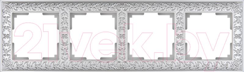 Купить Рамка для выключателя Werkel, Antik WL07-Frame-04 / a031785 (жемчужный), Россия, пластик, Antik (Werkel)