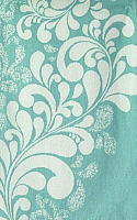 Полотенце Privilea Флора / 13с22 (50x90, бирюзовый) -