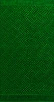 Полотенце Privilea Паркет / 16с22 (50x90,изумрудный) -
