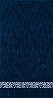 Полотенце Privilea Калипсо / 11с36 (50x90, синий) -