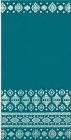 Полотенце Privilea Узор / 15с48 (50x70, бирюзовый) -