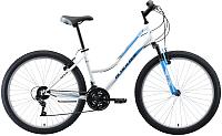 Велосипед Black One Eve 26 2019 (16, серебристый/голубой/серый) -